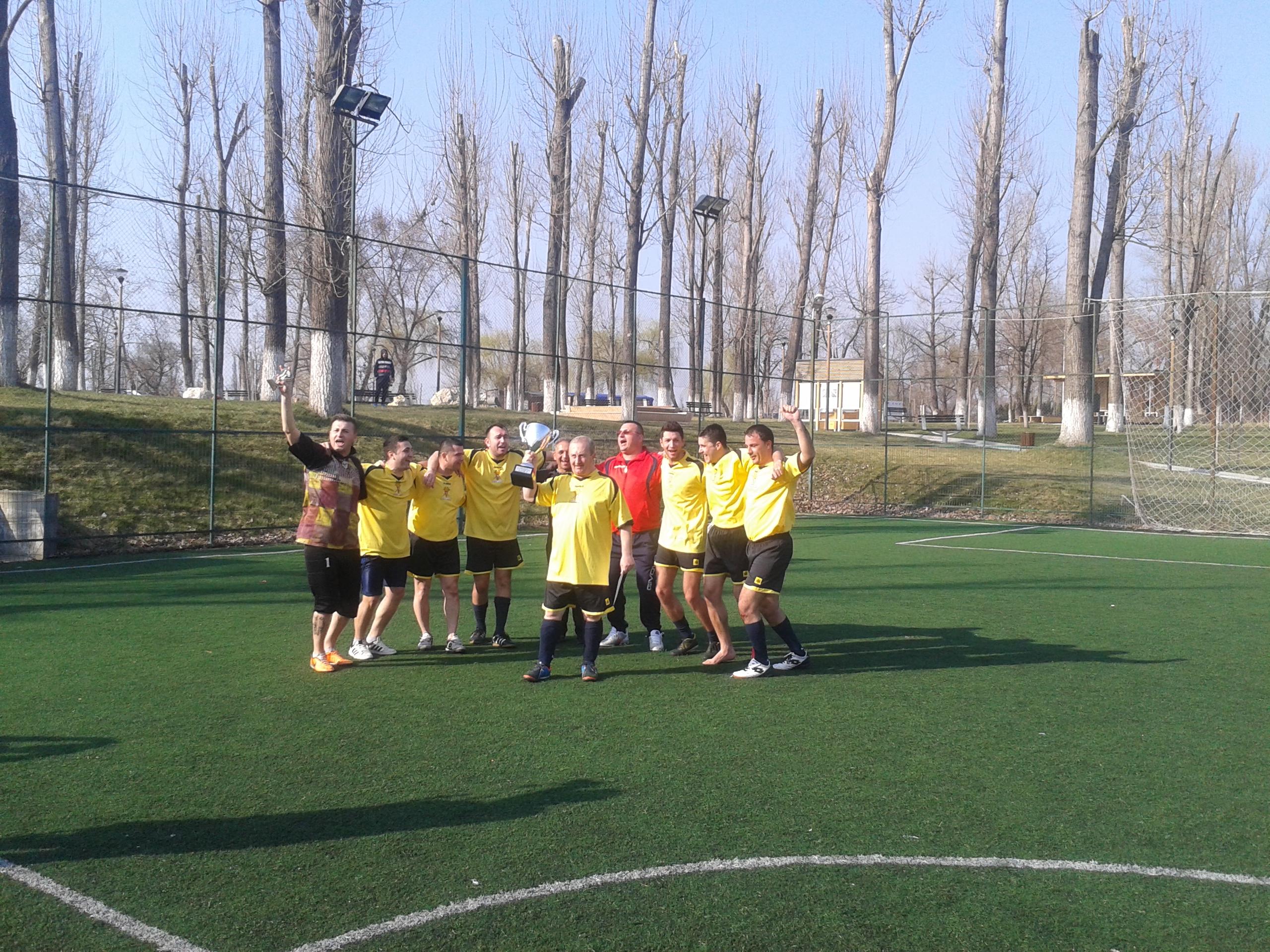 Bragadiru echipa castigatoare