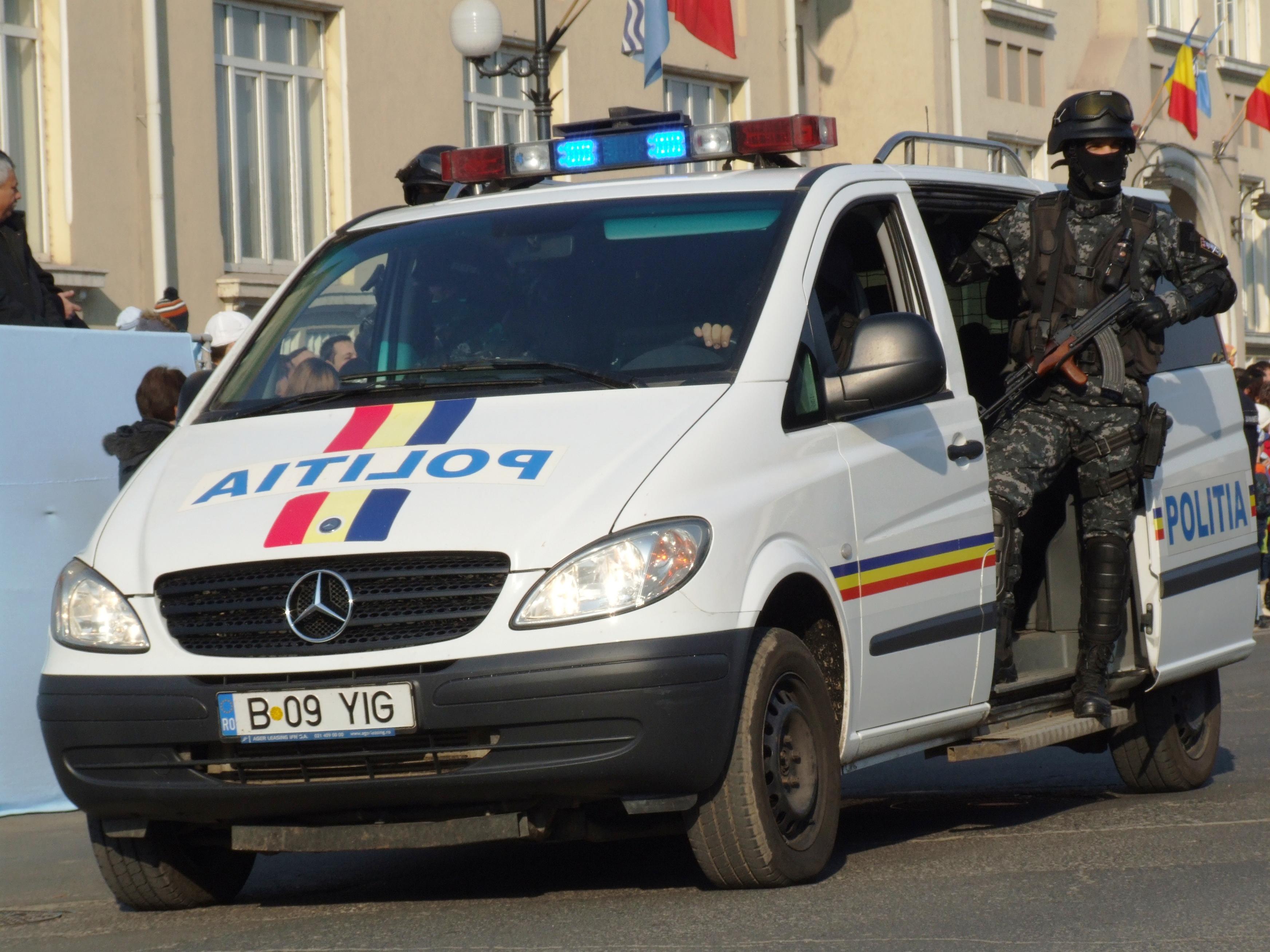 Politia-mascata