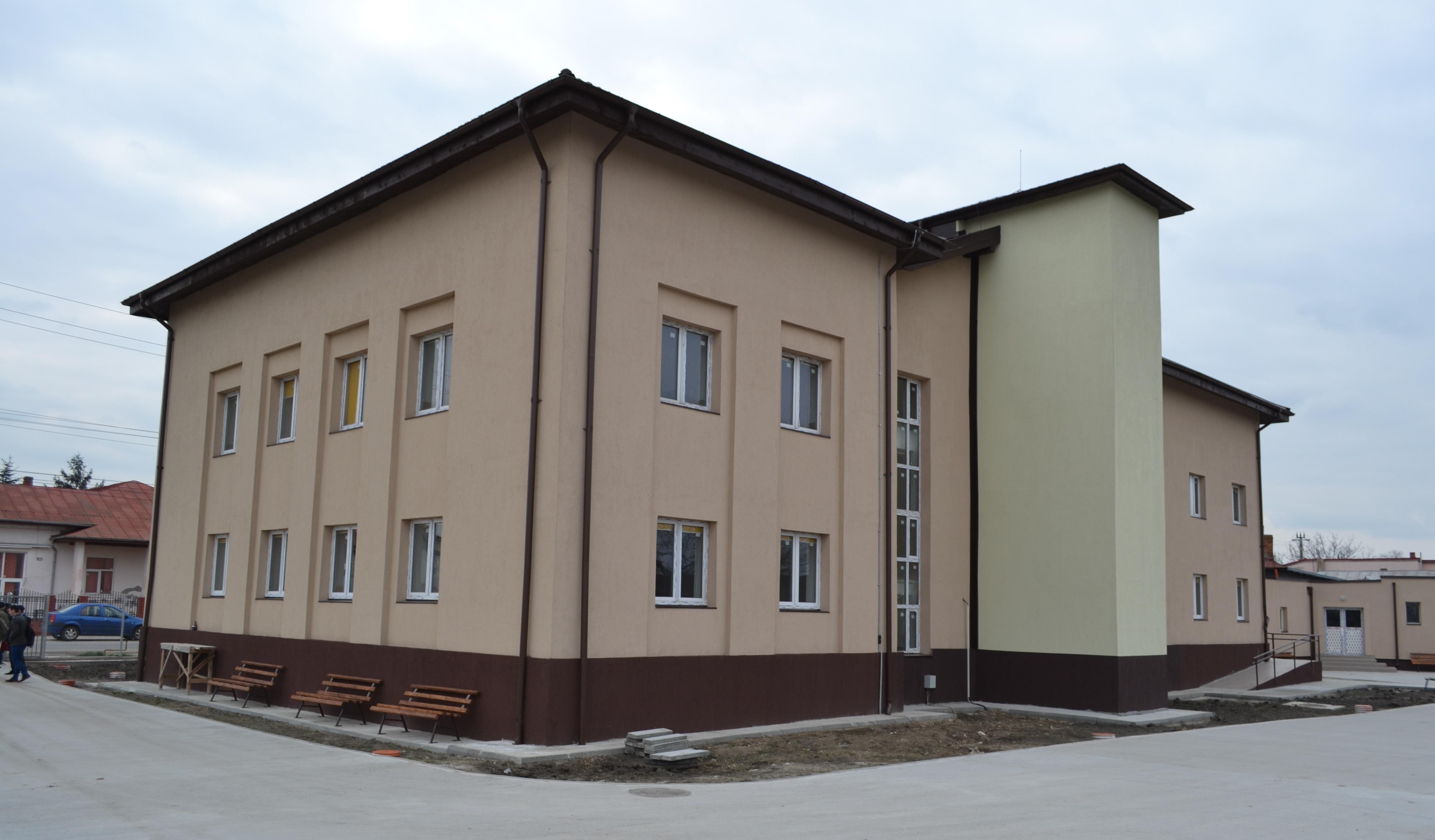 centru social Domnesti