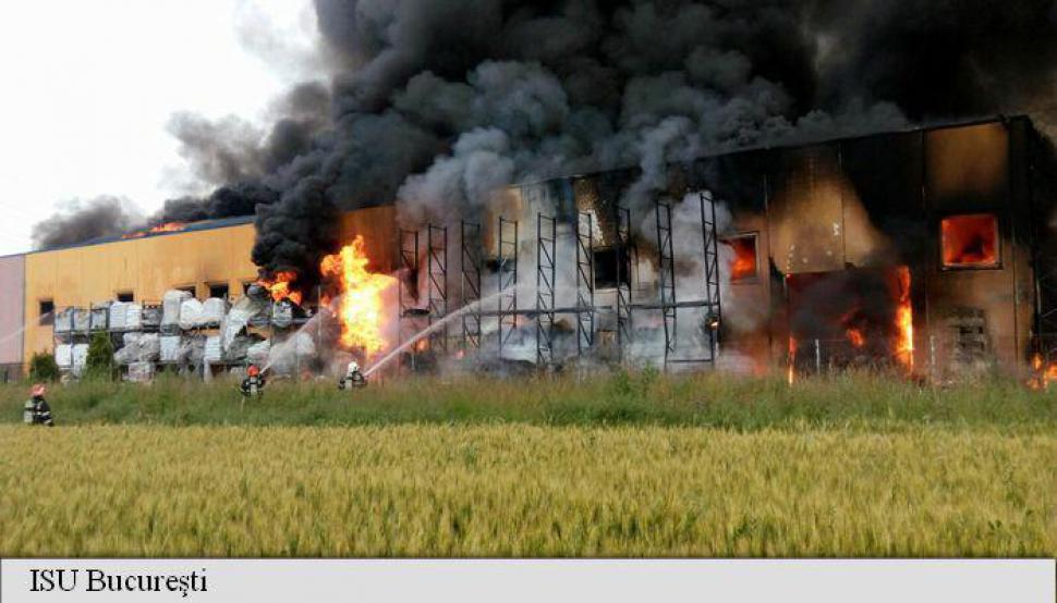 foto Jilava foc