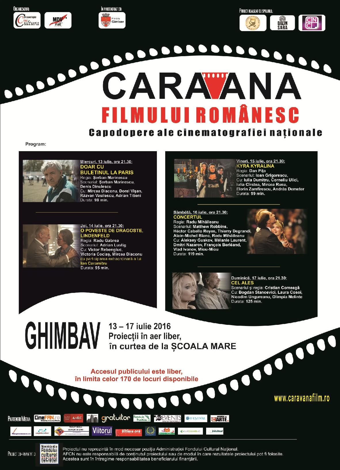 Afis Caravana la Ghimbav web